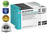 Microbiome Plus+ GI - Ultimate Probiotic and Prebiotic Supplement Clinically Proven and Developed by Doctors - Best for Digestive and Intestinal Health - Boost Immune and Helps Weight Loss - Advanced Probiotic and Prebiotic Combination for Women and Men - Probiotic L. reuteri NCIMB 30242 and Prebiotic scFOS - Allergy Safe - 1 Month Supply