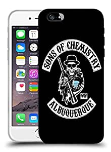 Snoogg Sons Of Chemistry Designer Protective Back Case Cover For IPHONE 6 PLUS