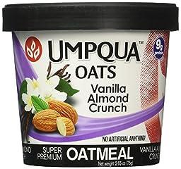 Umpqua Oats Vanilla Almond Crunch Super Premium Oatmeal (12 Pack)