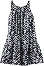 OshKosh B39gosh Print Woven Dress ToddlerKid BlackWhite
