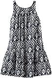 OshKosh B'gosh Print Woven Dress (Toddler/Kid) - Black/White-4