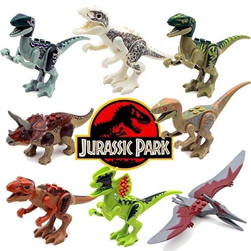 8pcs  (Velociraptor Prank Costume)