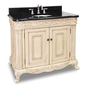 antique ornate bathroom vanity in antique. Black Bedroom Furniture Sets. Home Design Ideas