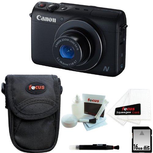 6#Z5Daily Cheap Canon PowerShot N100 Digital Camera (Black