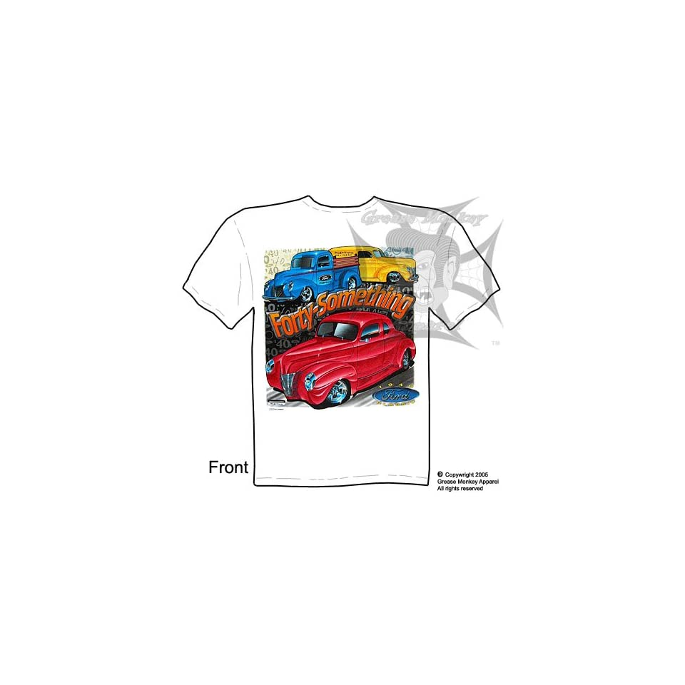 Size XXL, Forty Something, 1940 Fords, Hot Rod T Shirt, New, Ships