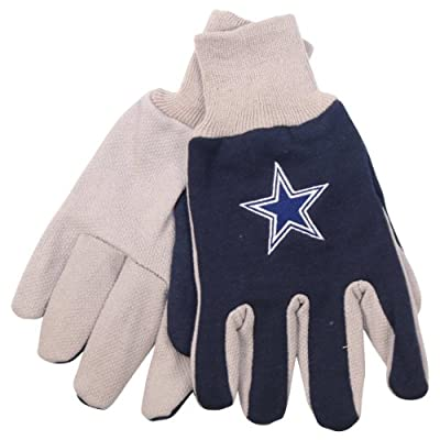 NFL Team Logo Grip Gloves - Dallas Cowboys