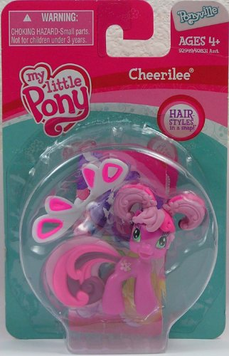 Buy Low Price Hasbro My Little Pony Cheerilee Hair Styles Figure (B0038AAADQ)