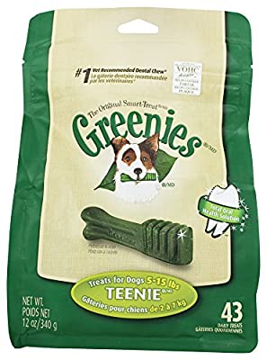 Greenies Canine Dental Chews, Treats For Dogs
