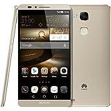 Huawei Ascend Mate 7 Mate7 Smartphone NFC FDD-LTE 4G 6.0 inch Octa Core 3GB+32GB EMUI 3.0 Hisilicon Kirin 925 1.8GHz 13MP Dual SIM 4100mAh Battery FDD-LTE+WCDMA+GSM (Gold)