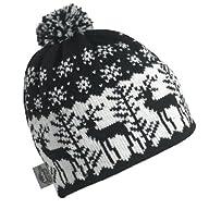 Turtle Fur - Women's Dear Deer, Classic Wool Knit Ski Pom Hat
