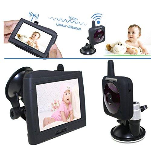 "Baby Monitor 2.4G 4.3"" Video Car Baby Monitor Wireless Lcd Display Baby Monitors Car Cam Monitor Baba Eletronica Bbm 08"