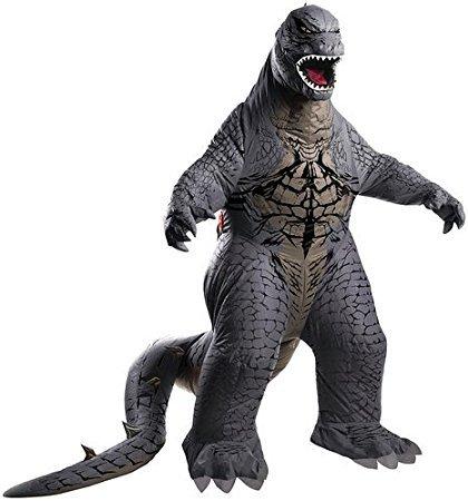 Evolution's Men's Godzilla Adult Inflatable Air Blown, Multicolor, Standard (Godzilla Inflatable Costume)