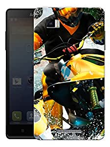 "Jet Ski Sports Printed Designer Mobile Back Cover For ""Lenovo Vibe P1"" By Humor Gang (3D, Matte Finish, Premium Quality, Protective Snap On Slim Hard Phone Case, Multi Color)"