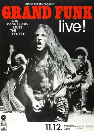 grand funk railroad on pinterest shea stadium the pack and band. Black Bedroom Furniture Sets. Home Design Ideas