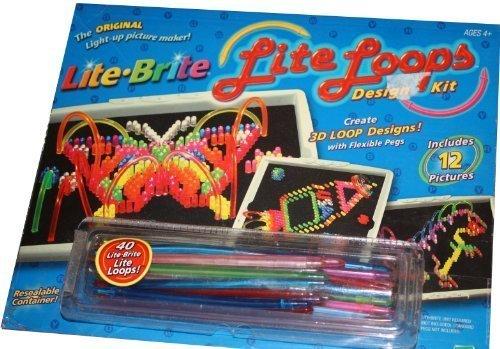 Lite Brite - Lite Loops Design Kit - Create 3D Loop Designs - 1