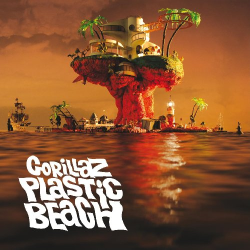 Plastic Beach by Gorillaz album cover