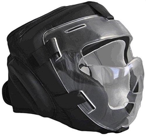 Full Face Kopfschutz mit Plexiglas Maske / Visier