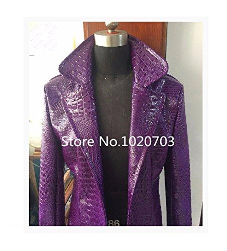 [Suicide Squad Jared Leto Batman Joker Jacket Cosplay Coat Costume Trench (XXL)] (Joker 2016 Costume)