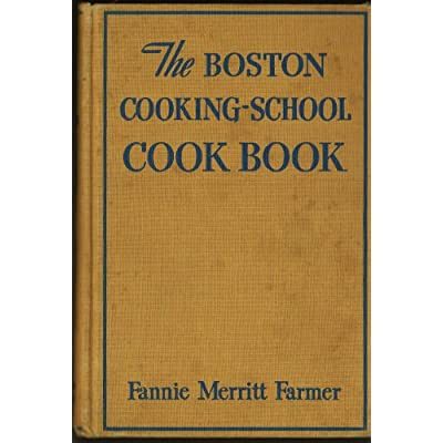 Boston Cooking School Cookbook Eighth Edition 1946 Fannie Farmer
