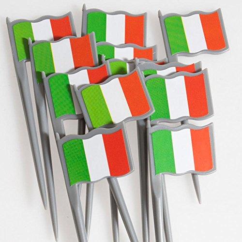 Italian Flag Food Picks