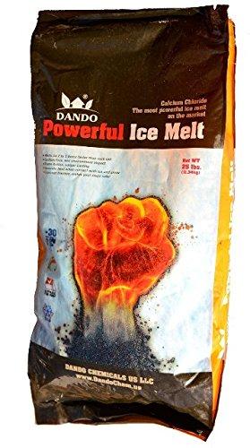 DANDO 25 lbs. Powerful Ice Melt