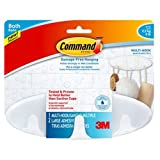 Command Bath Multi-Hook, 5-Pound Capacity