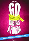 img - for 60 DIETAS A PRUEBA book / textbook / text book