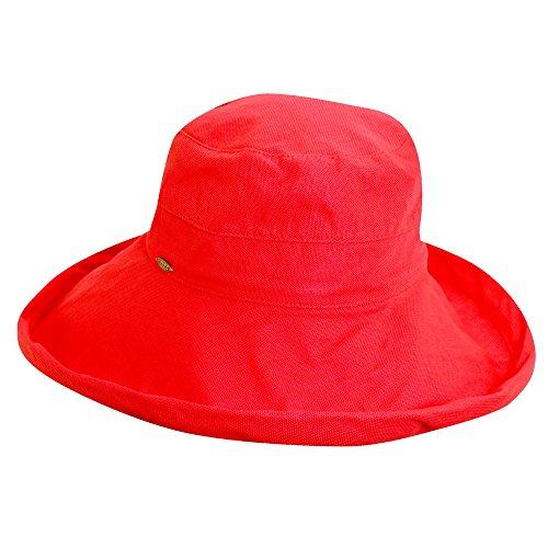 scala-damen-uv-upf-50-plus-hut-red-one-size-lc399
