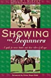 img - for Showing for Beginners by Hallie McEvoy (1996-11-01) book / textbook / text book