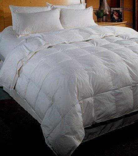 White Goose Down Comforter King/cal.king Size 500tc 100 gsm 5pc comforter sheet set king egyptian blue stripe 100