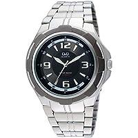 Q&Q Analog Black Dial Men's Watch - Q252N405Y