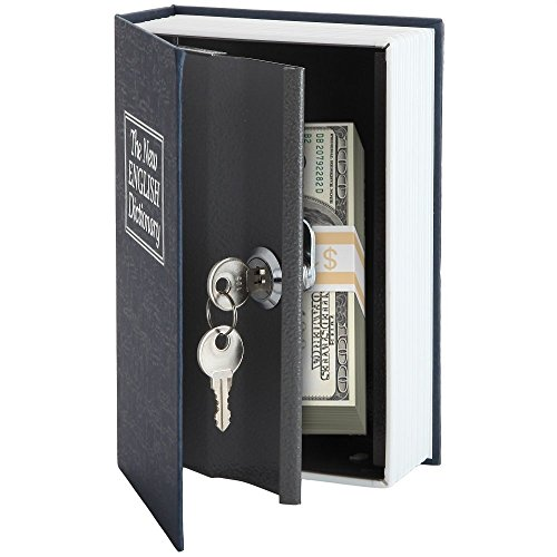 Home-X-Dictionary-Diversion-Book-Safe-with-Key-Lock-Metal