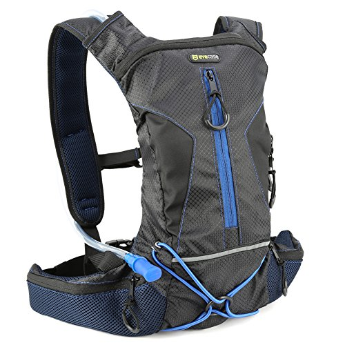 Hydration Backpack, Evecase Sport Daypack with Hydration Bladder