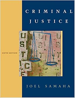 Criminal Justice samples of research work
