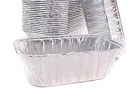 Disposable Aluminum 1 Pound Loaf Pan #5000 By Handi Foil (50)