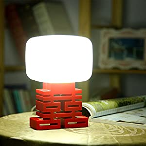 GRDE® Novelty Voice Activated Night Light, Intelligent Sound Control Bedside Lamp, LED Table Lamp with Voice Control by UK Tree