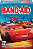 Band-Aid Adhesive Bandages, Disney Pixar Cars, Assorted Sizes, 20 ct.
