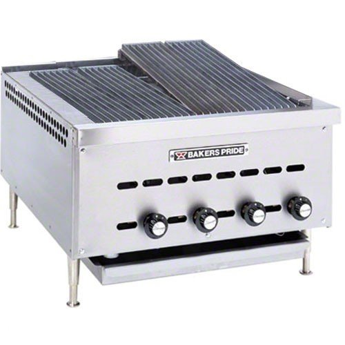 Bakers Pride X CookLine XXE Counter Top Radiant Gas Char Broiler, 26 1/4 x 30 x 15 3/4 inch -- 1 each.