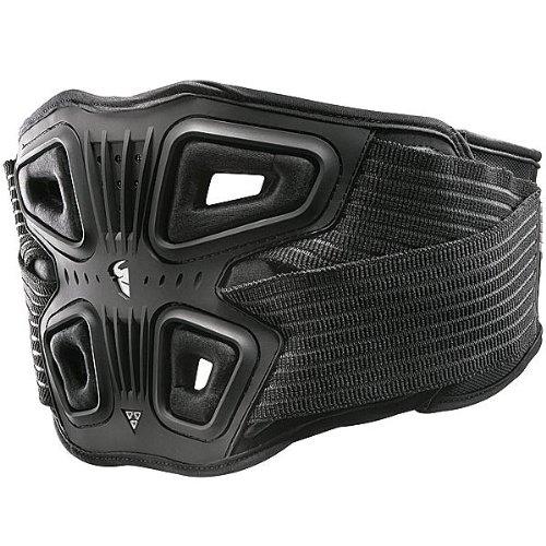 Thor  MX Force Adult Kidney Belt Dirt Bike Motorcycle Body Armor - Black/Black / Small/Medium
