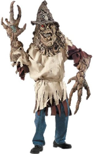 Scarecrow Creature Reacher Costume Mask