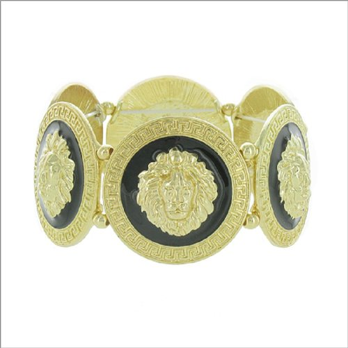 Designer Inspired Lion Face Bracelet #042094