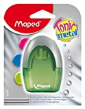 Maped Tonic 2-Hole Sharpener with Metal Insert, Assorted Colors (006900)