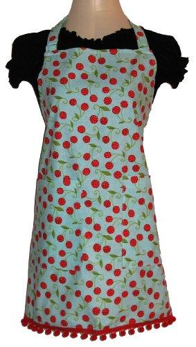 Sassy Cook'n Cherry Fresh Full Bib Apron