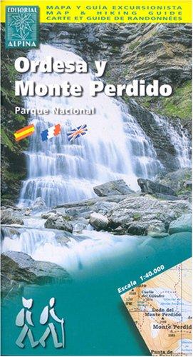 Ordesa Y Monte Perdido Map and Hiking Guide