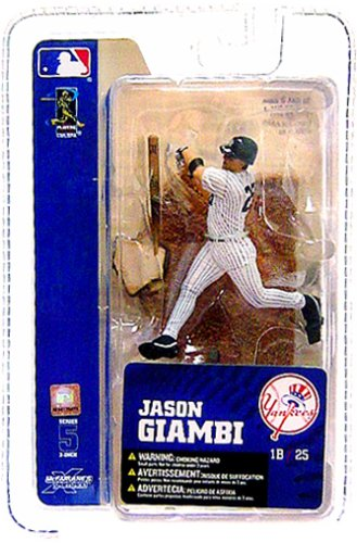 McFarlane Toys MLB 3 Inch Sports Picks Series 5 Mini Figure Jason Giambi (NY Yankees)