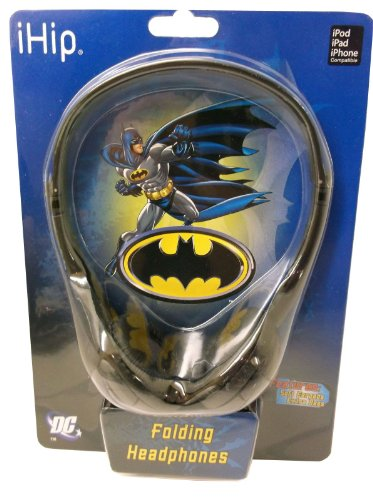 Batman Extra Bass Folding Headphones