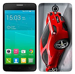 WOW Printed Designer Mobile Case Back Cover For Alcatel One Touch Idol X Plus