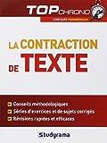 La contraction de texte : Concours Paramédicaux