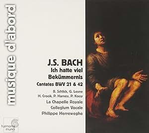 J.S.Bach - Cantates BWV 21 et 42