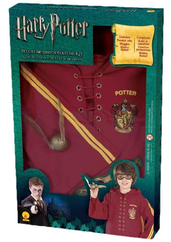 Harry Potter Deluxe Quidditch Costume Kit